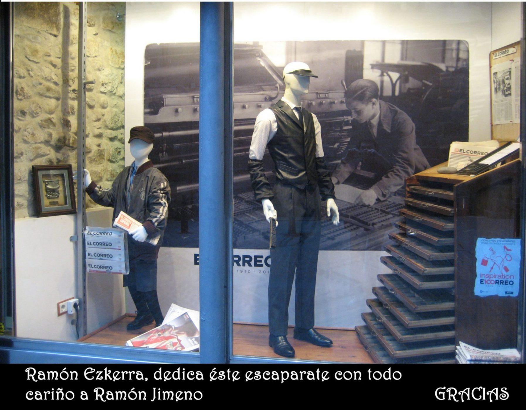 Escaparatismo en Bilbao