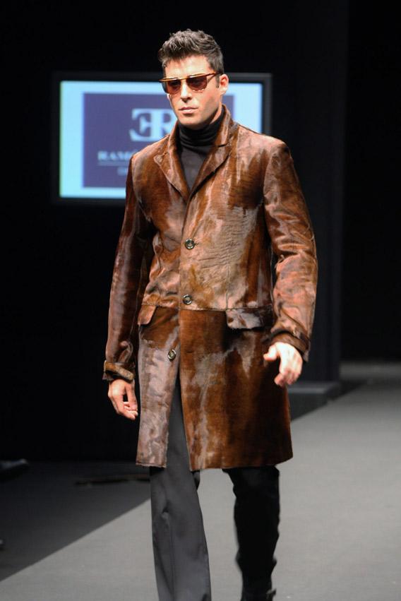 Abrigos de piel para hombre